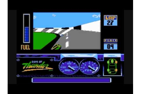 Days of Thunder - NES Playthrough - YouTube