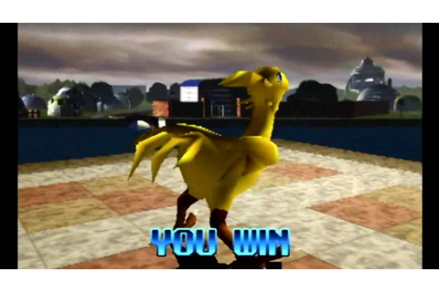 Tobal 2 (PlayStation) Tournament as Chocobo - YouTube