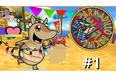 RACING ARMADILLOS | Armadillo Racing #1 Arcade Game - YouTube
