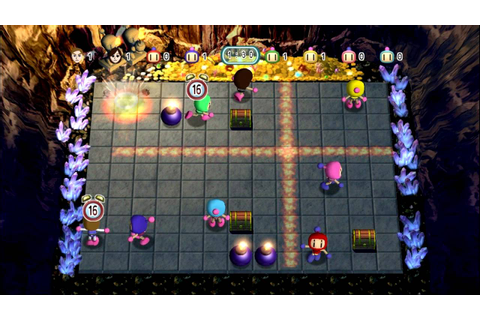 Bomberman Blast Wii 2 players gameplay (wii emulator ...