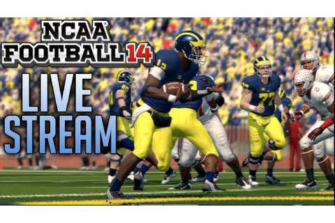 "NCAA Football 14 Demo Livestream - 5 FULL Games! (""NCAA ..."