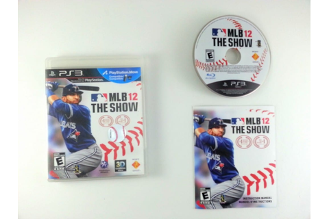 MLB 12: The Show game for Playstation 3 (Complete) | The ...