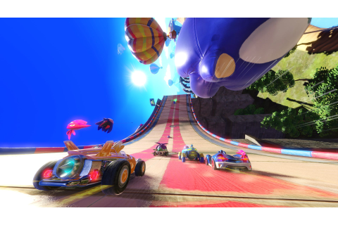 Team Sonic Racing gameplay teased in latest video - Team VVV