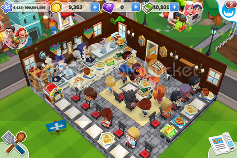 Restaurant Story2: game play, tips, tricks and some pics.