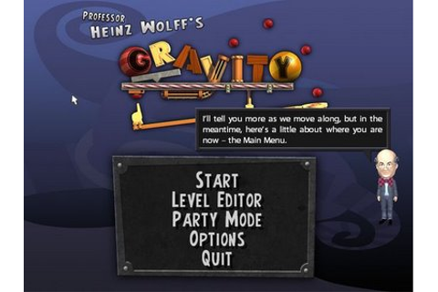 Games Collection: Professor Heinz Wolffs Gravity 1.0 Multi