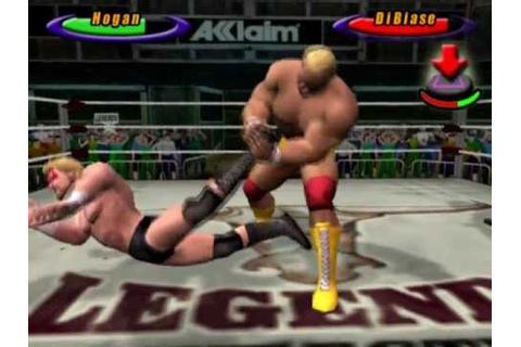 Legends of Wrestling (PS2 Gameplay) - YouTube