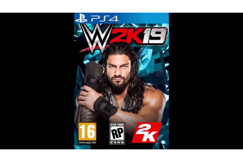 Wwe 2k19 Front cover concept (PS4) - YouTube