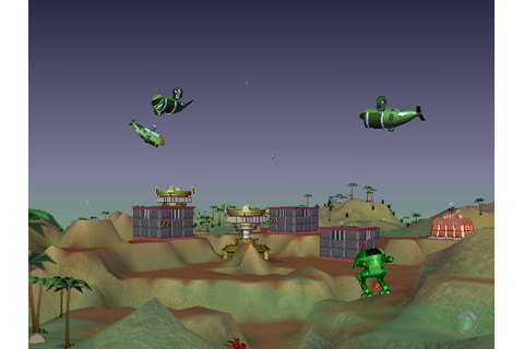 A Monsteca Corral: Monsters vs. Robots (WiiWare) Game ...