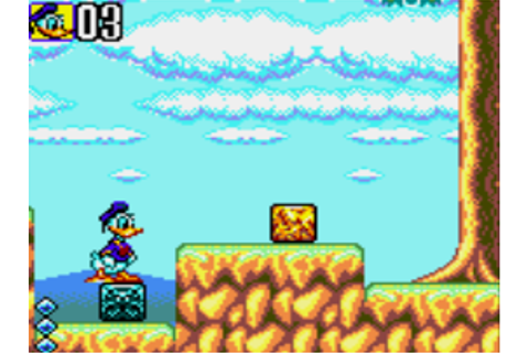 Play Game Gear Deep Duck Trouble Starring Donald Duck (USA ...
