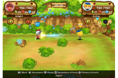 Little Tournament Over Yonder (WiiWare) Screenshots
