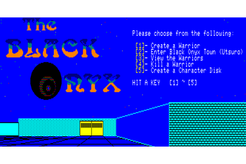 The CRPG Addict: Game 175: The Black Onyx (1984)
