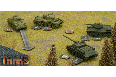 Tanks by GF9 | Table Top Games UK