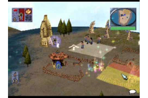 Populous - The Beginning Gameplay pSX 1.13 - YouTube