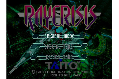RayCrisis (2000) by Taito PS game