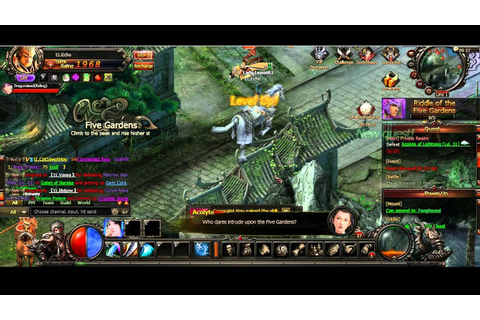 Monkey King Online - Alpha Gameplay Browser MMORPG Game ...