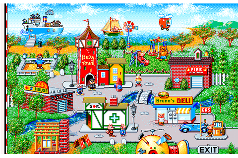 Richard Scarry's BusyTown | Play DOS games online