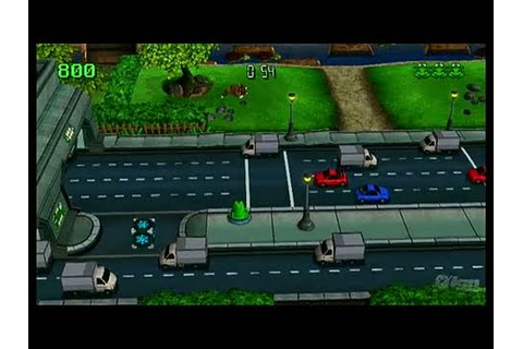 Frogger Returns Nintendo Wii Gameplay - Big City - YouTube