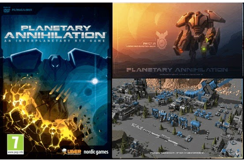 PLANETARY ANNIHILATION An Interplanetary RTS Game Free ...