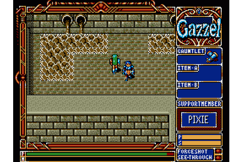 Xak III: The Tower of Gazzel (1991) by Micro Cabin MSX2 game