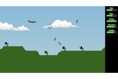 Harrier Attack - Remake of Amstrad CPC Classic - Early ...