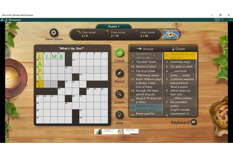 Microsoft's Ultimate Word Games is the one word puzzler ...