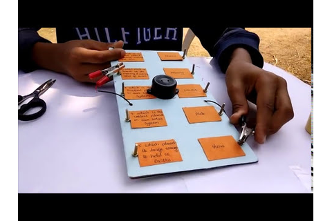 How To Make An Electronic (Electric) Quiz Board - YouTube