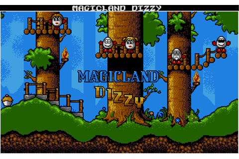 Magicland Dizzy | Old MS-DOS Games | Download for Free or ...