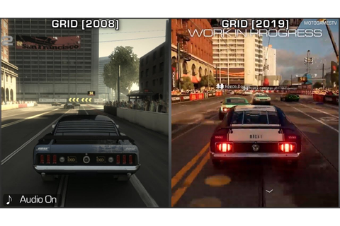 GRID [2008] vs GRID [2019] - San Francisco Early Gameplay ...