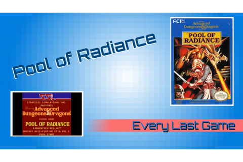 NES: AD&D: Pool of Radiance- Every Last Game - YouTube