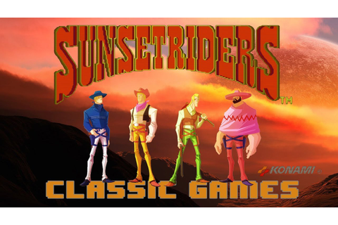 Sunset Riders | Gameplay & Download » Classic Games - YouTube