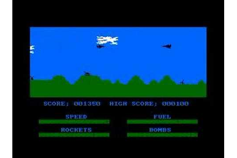 Harrier Attack on the Amstrad CPC - YouTube