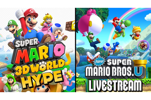 Super Mario 3D World HYPE - New Super Mario Bros. U ...