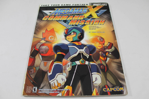 Mega Man X Command Mission Guide - Brady Games