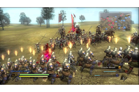 Bladestorm The 100 Year War Gameplay - YouTube