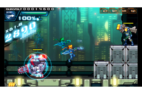 Download Azure Striker Gunvolt Full PC Game