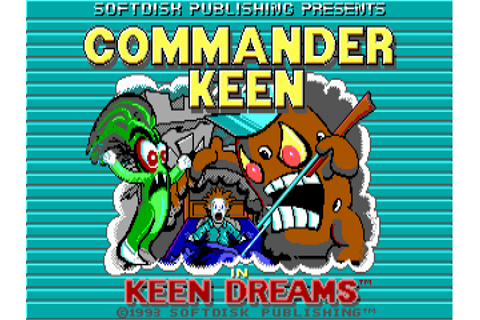 Download Commander Keen: Keen Dreams | DOS Games Archive