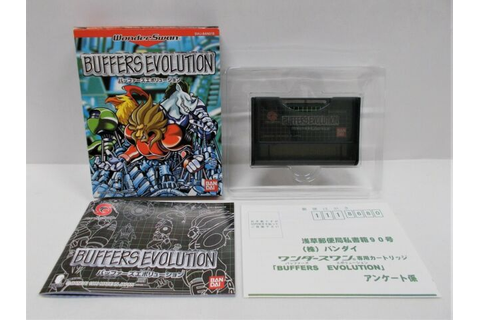 WS -- Buffers Evolution -- New!! WonderSwan, JAPAN GAME ...
