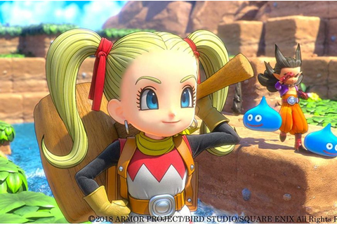 Dragon Quest Builders 2 Coming West in 2019
