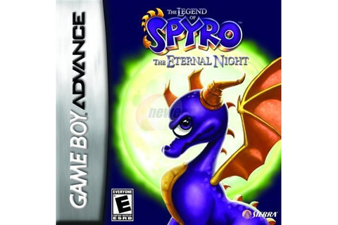 The Legend of Spyro: The Eternal Night GameBoy Advance ...