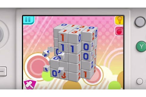 Picross 3D Round 2 for 3DS comes to North America - Polygon