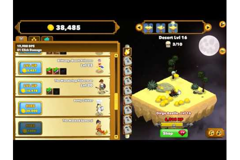 Clicker Heroes: Only Clicks | Cool Math Games - YouTube