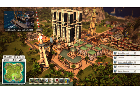 Tropico 5 review - GameplayInside