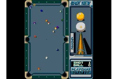 RACK 'EM UP POOL RETRO ARCADE MAME VIDEO GAME KONAMI 1987 ...