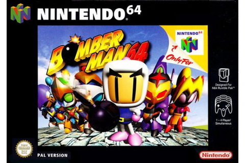 Bomberman 64 (N64 / Nintendo 64) News, Reviews, Trailer ...