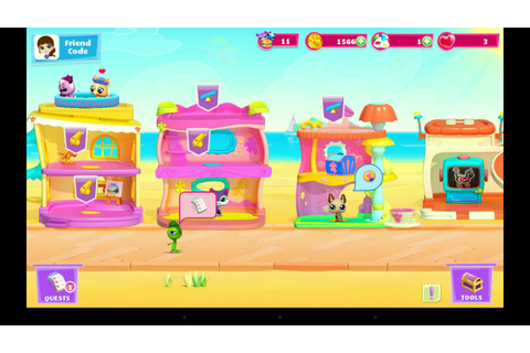 Littlest Pet Shop, game for kids - gameplay - YouTube