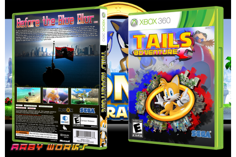 Tails Adventure Xbox 360 Box Art Cover by Arby Works