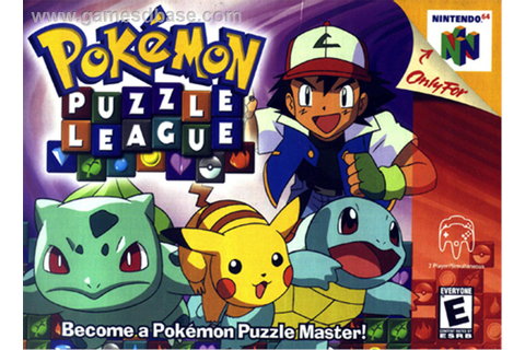 File:Pokémon Puzzle League.jpg - Dolphin Emulator Wiki