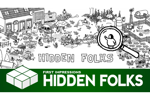 Hidden Folks | PC Gameplay & First Impressions - YouTube