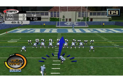 Dolphin Emulator 4.0-3469 | NCAA College Football 2K3 ...