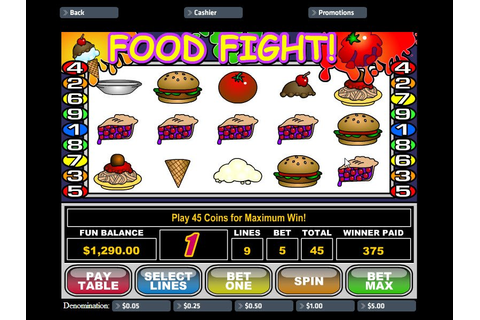 Klik hier voor het Food Fight slot game review en win.